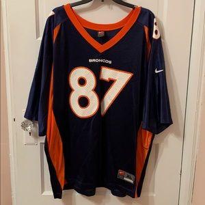 Ed McCaffrey Broncos Jersey, Size XL